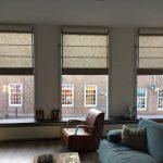 Vouwgordijnen en Roman blinds en Austrian shades Protectsun in Amsterdam