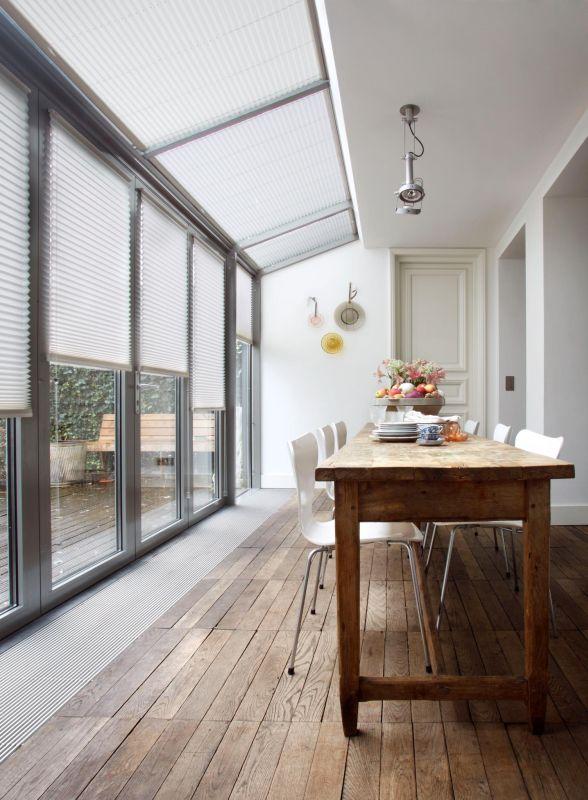 Sunway serre en lichtkoepel zonwering en warmtewering vraag advies aan Protectsun.nl