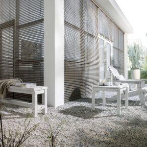 Wood Weave geweven hout Sunway vraag aan protectsun.nl in Amsterdam