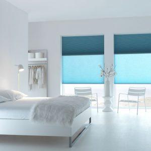 Sunway twin plissee zonwering en raamdecoratie vraag advies aan protectsun.nl