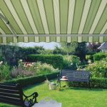 kwaliteit knikarm zonnescherm voor uw tuin terras vraag advies aan protectsun.nl