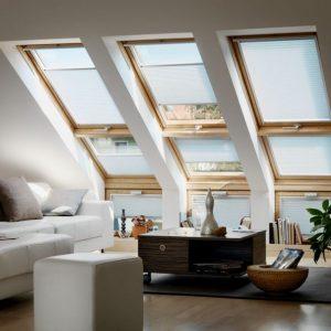Velux dakraam plissee zonwering en raamdecoratie vraag advies aan protectsun.nl