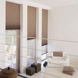 Verosol twin plissee raamdecoratie en zonwering vraag het aan protectsun.nl