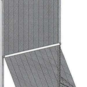 markisolet uitval zonnescherm voor hoge ramen