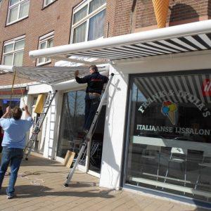 vakkundige montage van uw zonnescherm vraag aan Protectsun.nl in Amsterdam