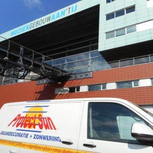 vakkundige hoge montage van uw screen zonfilter vraag aan Protectsun.nl in Amsterdam