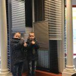 onze jongste klanten in de Showroom Protectsun in Amsterdam west