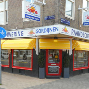 Winkel en Showroom Protectsun in Amsterdam west