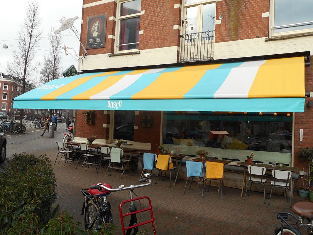kwaliteit zonnescherm voor uw grand cafe vraag advies aan protectsun.nl